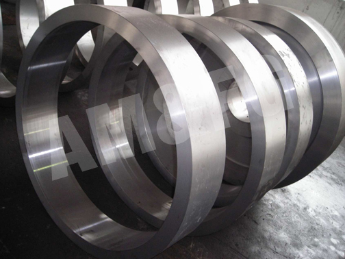 Ring Gear Forged from Carbon Steel