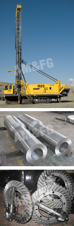Forged parts for the Mining Industry
