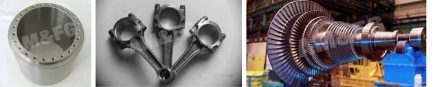 Forged Titanium Parts