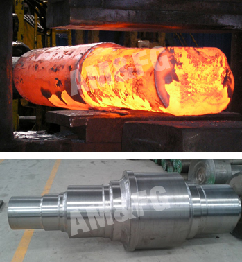 Forged Parts for Engines and Turbines