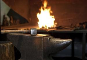 Forging anvil